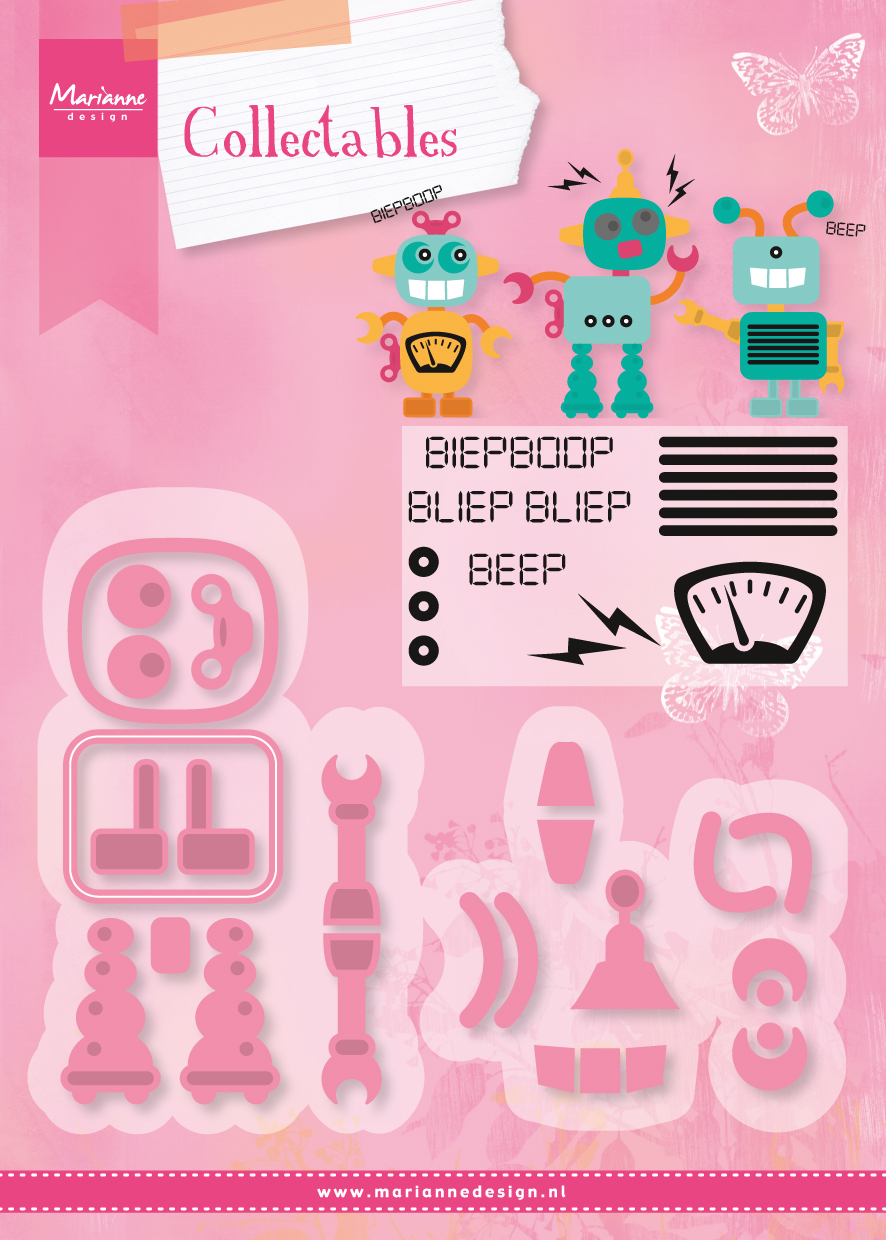 COL1403 Marianne Design Collectable - Robot