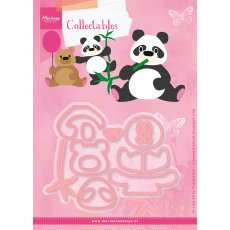 COL1409 Marianne Design Collectable - Miś Panda