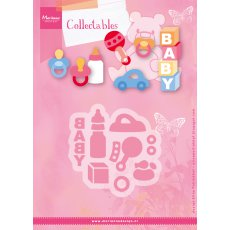 COL1421 wykrojnik Marianne Design Collectable - Eline\'s Baby Essentials