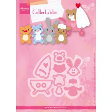 COL1422 Marianne Design Collectable - Eline\'s Baby Animals