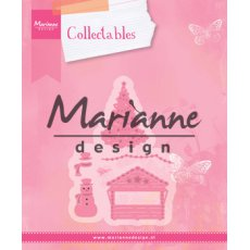 COL1440 Marianne Design Collectable - Village decorat.zestaw 5