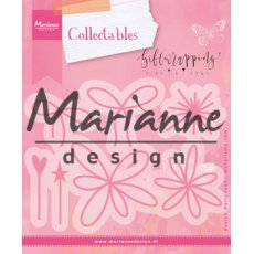 COL1441 Marianne Design Collectable - kokardki,kwiatki