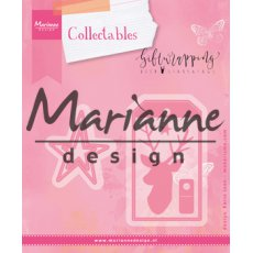 COL1442 Marianne Design Collectable -jelonek,tag,gwiazdka