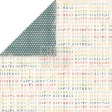 CP-BP02 Papier dwustronny Craft&You Design 30,5x30,5 Birthday Party 02