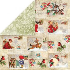 CP-NP01 Papier dwustronny Craft&You Design 30,5x30,5 North Pole 01