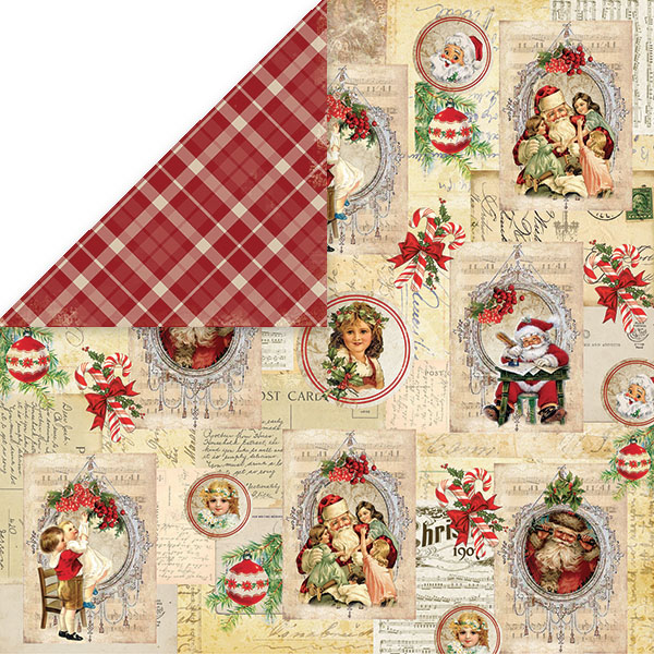 CP-NP03 Papier dwustronny Craft&You Design 30,5x30,5 North Pole 03