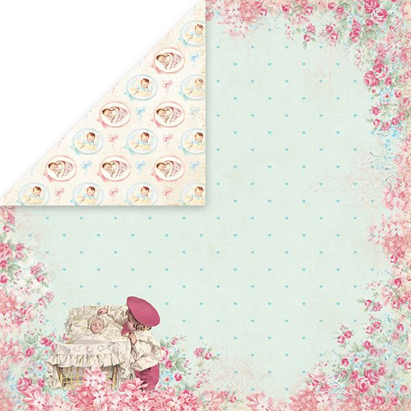 CP-SB03 Papier dwustronny Craft&You Design 30,5x30,5 Shabby Baby 03