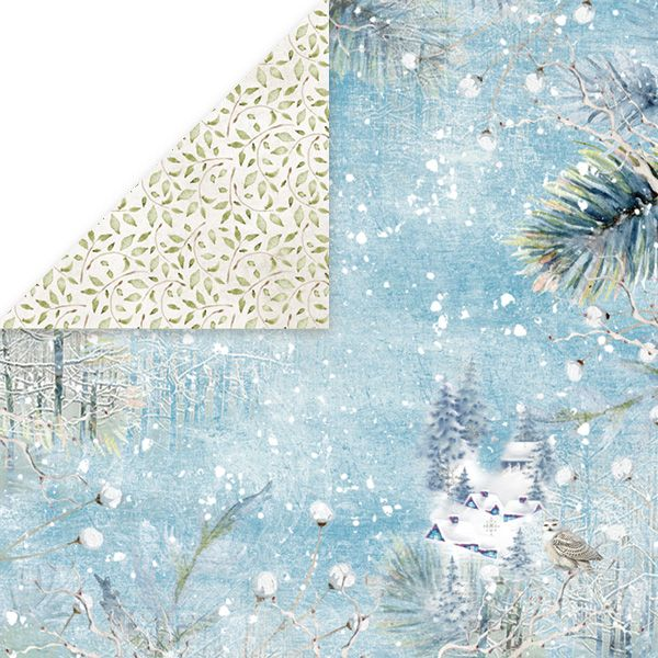 CP-WDR01 Papier dwustronny Craft&You Design 30,5x30,5 Winter Dream 01