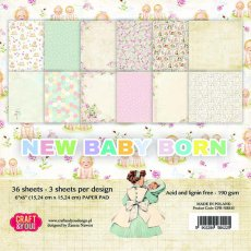 CPB-NBB15 Bloczek 15x15 Craft & You Design New Baby Born