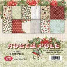 CPB-NP15 Bloczek 15x15 Craft & You Design North Pole