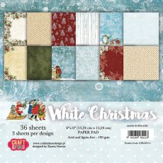 CPB-WC15 Bloczek 15x15 Craft & You Design White Christmas