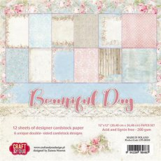 CPS-BD30 Zestaw papierów 30,5x30,5 cm Craft&You Design-Beautiful Day