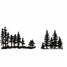 CR1287 Wykrojniki Craftables Tiny\'s Pinetrees