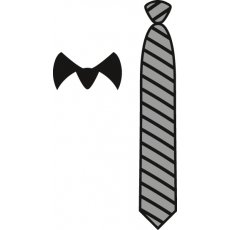 CR1292 Wykrojniki Craftables- Gentleman\'s Tie