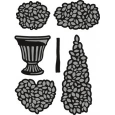 CR1303 Wykrojniki Marianne Design Craftable - Topiary Set