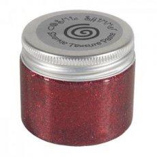 CS907670 Pasta strukturalna Cosmic Shimmer Texture z brokatem- Berry Red