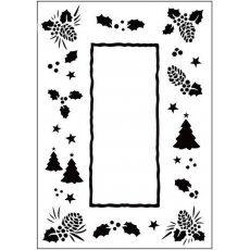 CTFD3035 Folder do embossingu  Christmas Trees Frame