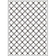 CTFD3099 Folder do embossingu - 12,7 cm x17,8 cm Lattice
