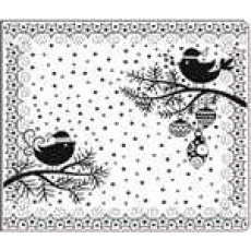 CTFD4026 Folder do embossingu Snow Bird  15x12,7 cm