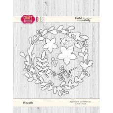 CW057 Wykrojnik  -Wreath -wianek - Craft&You Design