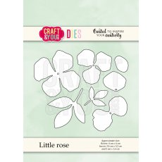 CW070 Wykrojnik -Little rose-mała róża-Craft&You Design