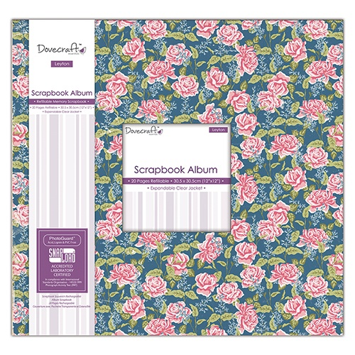 DCALB001 Album do scrapbookingu Dovecraft Leyton Value Scrapbook Album