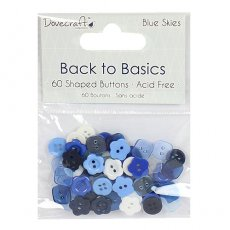 DCBTN012 - Dovecraft - Guziki Back to Basics -Blue Skies