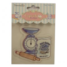 DCCS004 Stempel silikonowy Cupcake Boutique - BAKING