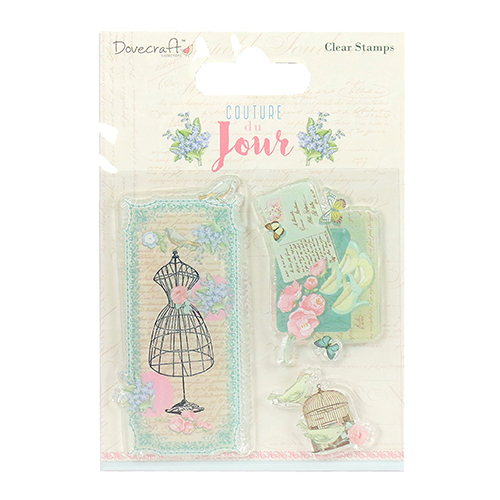 DCSTP081 Stempel silikonowy-Dovecraft Couture du Jour Clear  Stamps - Image