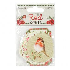 DCTOP106X18 Topery - Dovecraft- Little Red Robin