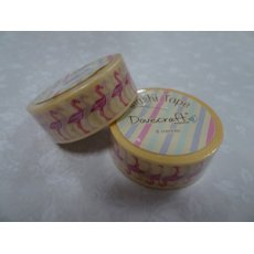 DCWTB004- 4 Washi tape-Flamingi