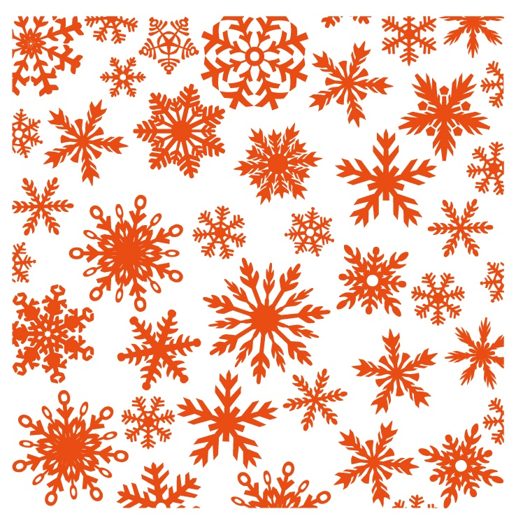 DF3420 Folder do embossingu Marianne Design Embossing Folder - Ice Crystals / Śniezynki
