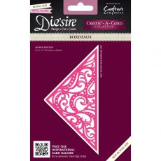DS-CAD-BOR Wykrojnik Die\'sire Create-A-Card- Bordeaux