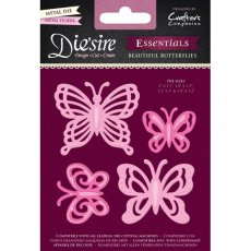 DS-E-BFLY Wykrojnik Die\'sire Essentials Beautiful Butterflies-motyle