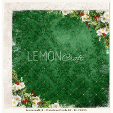 LP-CHC03 Christmas Carols 03-Dwustronny papier do scrapbookingu Lemoncraft