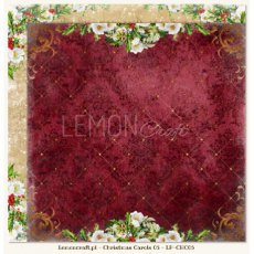 LP-CHC05 Christmas Carols 05- Dwustronny papier do scrapbookingu Lemoncraft