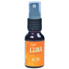 80752 Dye Izink Spray -Tusz wodny w sprayu- Orange Cire (Wax) 15ml