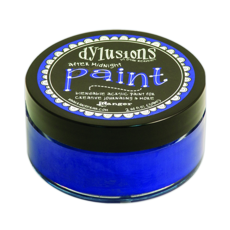 DYP50940 Farba akrylowa Dylusions Paint -After Midnight