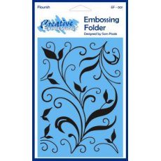 EF-001 Folder do embossingu-Flourish