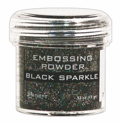 EPJ37460  Puder do embossingu Ranger -Black Sparkle