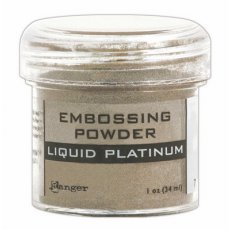 EPJ37484 Puder do embossingu Ranger -Liquid Platinum