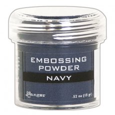 EPJ60383 Puder do embossingu Navy Metallic Ranger