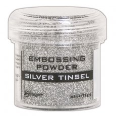 EPJ60437 Puder do embossingu Silver Tinsel Ranger