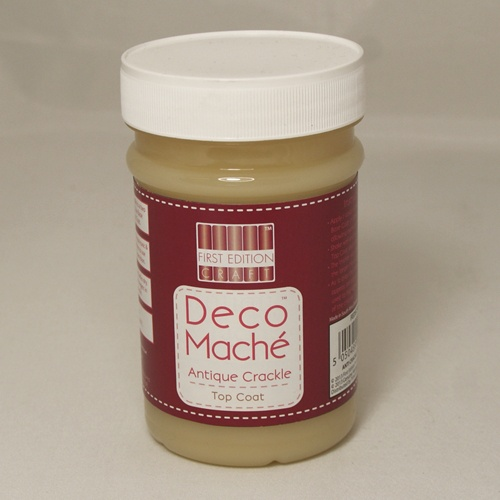FEDEC904 Deco Mache Antique Crackle Top Coat
