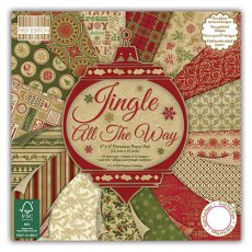 FEPAD097X15 Zestaw papierów 15x15 cm -First Edition- Jingle All the Way