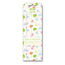 FEXDEC064 First Edition Deco Maché - Easter - Lots of Eggs-papier do decoupage\'u