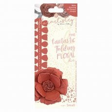 FLOR17011 Wykrojnik Florartistry-kwiat 3D- Shabby Rose (Small)