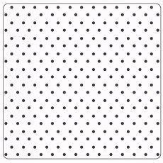CTFD3014 Folder do embossingu-12,7 cm x 12,7cm- Dots - kropki