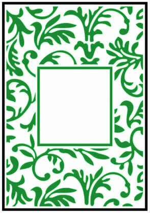 CTFD3047 Folder do embossingu Floral Frame