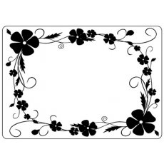 CTFD4018 Folder do embossingu Pansy Frame